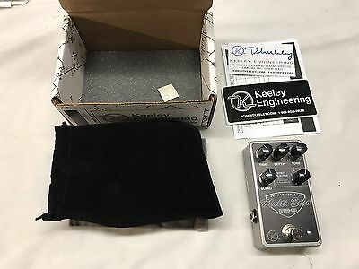 KEELEY ME-8 MULTI ECHO GUITAR EFFECTS PEDAL w FREE US SHIPPING