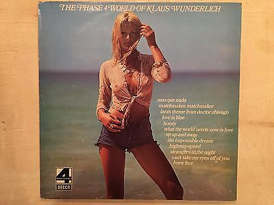 NUDE COVER IMPORT LP RECORD The Phase 4 World of Klaus Wunderlich