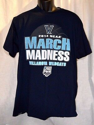 NEW Jansport Villanova Wildcats 2014 NCAA March Madness Tee Shirt Size XL