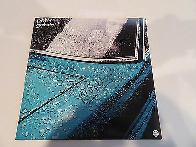 PETER GABRIEL SIGNED AUTOGRAPHED 12X12 ALBUM COVER PHOTO W COA