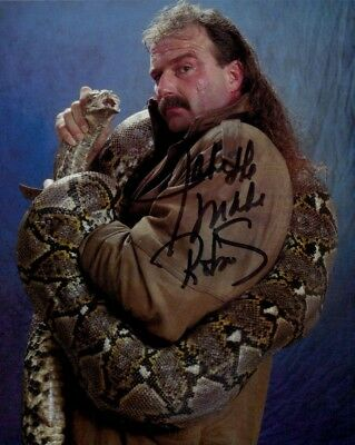 Jake Roberts autographed 8x10 photo COA