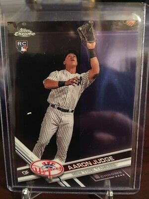 Aaron Judge 2017 Topps Chrome Rookie