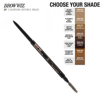 ANASTASIA BEVERLY HILLS BROW WIZ EYE BROW PENCIL choose your shade BNIB