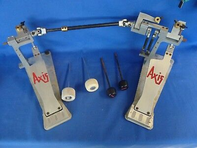 Axis Double Kick Chain Bass Drum Foot Pedal Set - Parts or Restoration