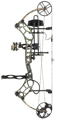 New 2017 Bear Legend Series LS2 Bow 60-70 Complete RTH Package RH Retails 599