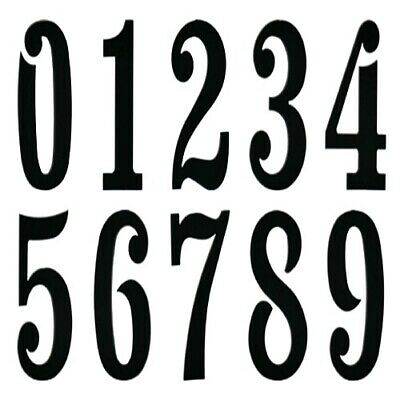 COE 96 NUMBERS Fusible Black Glass 3 CHOICE Fusing Mosaic Supplies