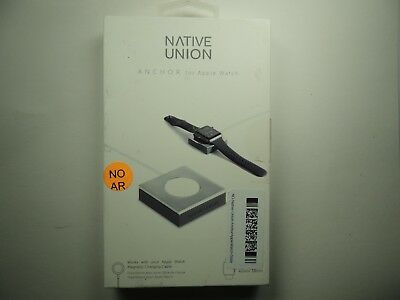 Native Union ANCHOR Base for Apple Watch 38mm and 42mm - SilverGray
