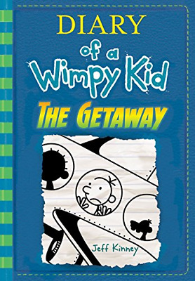The Getaway Diary of a Wimpy Kid Book 12 hardcover