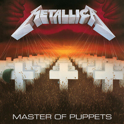 Metallica - Master Of Puppets New Vinyl LP Rmst