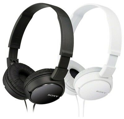 Sony MDR-ZX110 Stereo Over-Head Headphone Extra Bass Black - White Colors