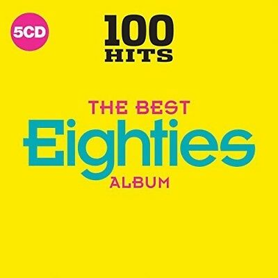Various Artists - 100 Hits The Best 80s  Various New CD Boxed Set UK - Impo