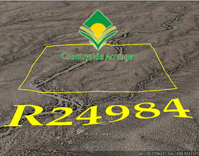 40 ACRES of Raw Vacant Land in Hudspeth County Texas TX -REDUCED TO SELL