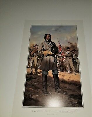 Don Troiani Limited Edition Print Colonel of the Confederacy flat and Unframed
