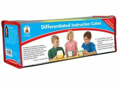 Differentiated Instruction Cubes by Carson-Dellosa Publishing Staff 2010-