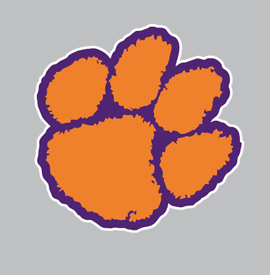 Clemson Tigers College Football NCAA Color Sports Decal Sticker-Free Shipping