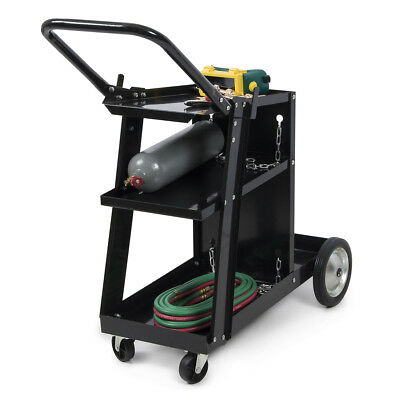 MIG TIG ARC Welder Welding Cart Universal Storage Tanks - Accessories Wheels HD