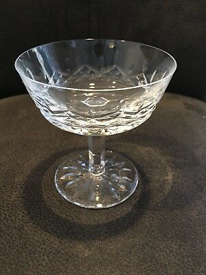 Waterford Crystal Lismore Champagnesherbert Glass Individually Sold