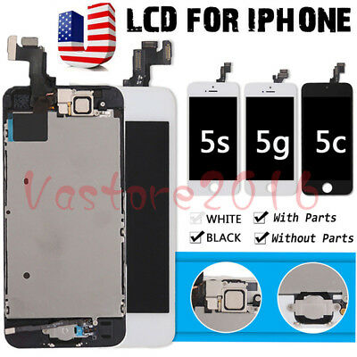 For IPhone 5s 5c 5 Complete LCD Display Screen Replacement Digitizer Assembly