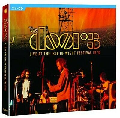 The Doors - The Doors Live at the Isle of Wight Festival 1970 New CD With Blu