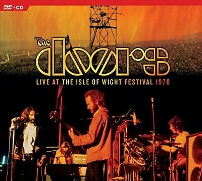The Doors - The Doors Live at the Isle of Wight Festival 1970 New CD With DVD