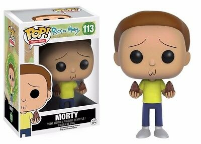 Funko Pop Animation Rick And Morty - Morty Vinyl Action Figure