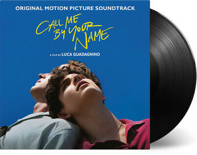 Call Me By Your Name original Soundtrack New Vinyl LP Black 180 Gram