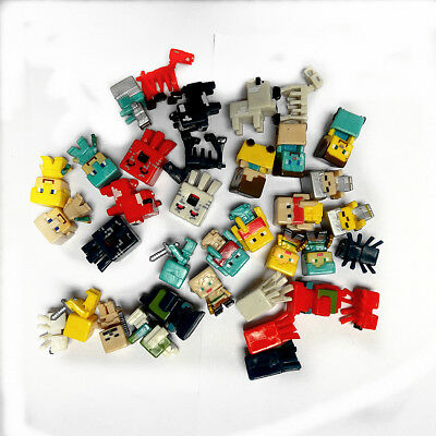 36PCs 1-5 cm - 3 cm Minecraft Toys Characters Action Figure Doll Play set Toy
