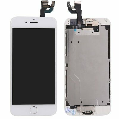 White iPhone 6 4-7 Complete Screen Replacement Touch LCD Digitizer -Home Button