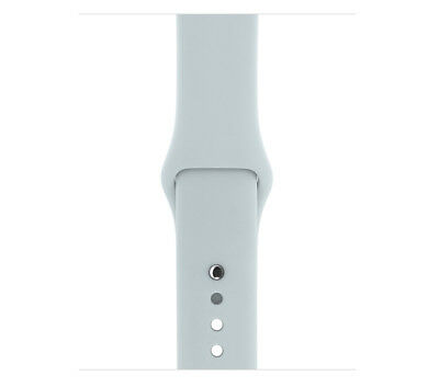 Genuine Apple Watch Sport Band - 38mm Mist Blue Stainless Steel Pin - VG