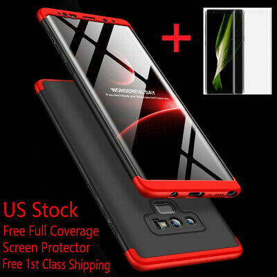 For Samsung Galaxy Note 20/10/9/S10/S9/S21/S20 Plus Ultra Shockproof 360° Case