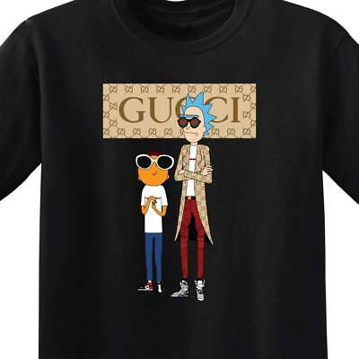 Rick and Morty Gucci - MENS T-Shirt - 20 colors - Get Schwifty