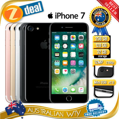 APPLE iPHONE 7 32GB 128GB 256GB UNLOCKED AU STOCK AU MODEL AU VERSION