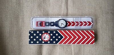 Brand New Official 2018 TEAM USA Paralympic Swatch Watch