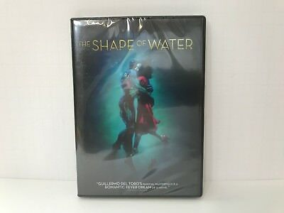 The Shape Of Water DVD 2017 Brand NEW Drama Romance FREE SHIPPING in USA