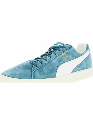 Puma Mens Clyde Premium Ankle-High Suede Fashion Sneaker