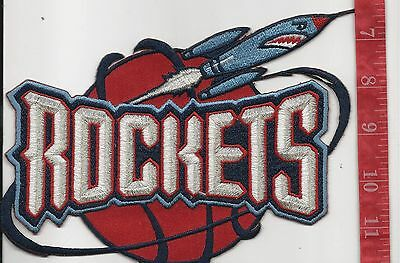 large vintage Houston Rockets team patch  FREE SHIPPING