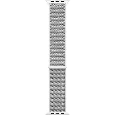 Genuine Apple Watch Sport Loop Band 42mm Seashell Hook-and-Loop Closure - VG