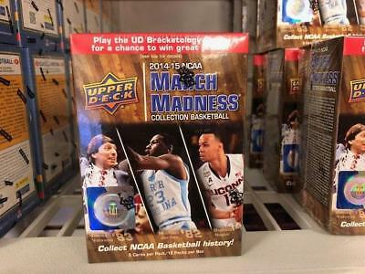 201415 Upper Deck NCAA March Madness Collection Basketball Blaster Box