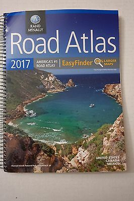 Rand McNally 2017 EasyFinder Midsize Road Atlas Spiral Bound