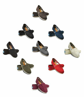 New Authentic Womens Toms Classic Canvas Shoes