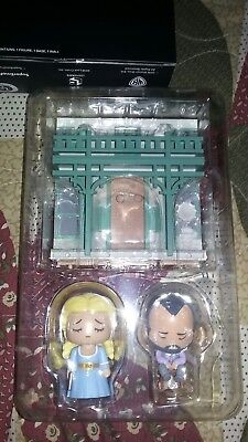 Westworld Lootcrate Exclusive Artist Series Vinyl Figures Dolores and Arnold