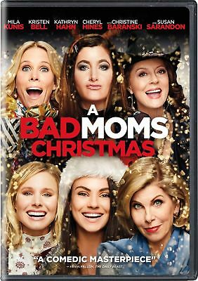 A Bad Moms Christmas DVD 2017 Brand NEW Comedy Sealed FREE SHIPPING in USA