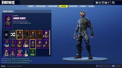 Fortnite Account with save the world Many skins unlocked on battle royale