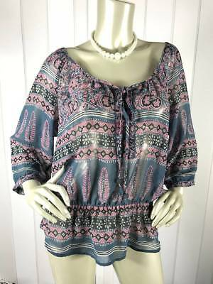 American Eagle Outfitters Women Top- Blouse Sz Large