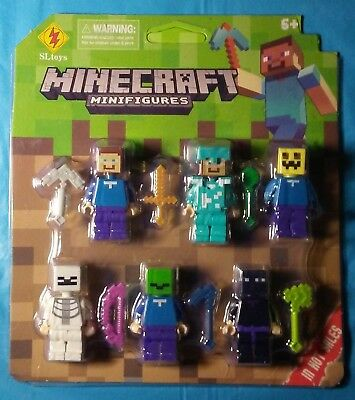 Minecraft Action Mini Figures Brand New in unopened retail box