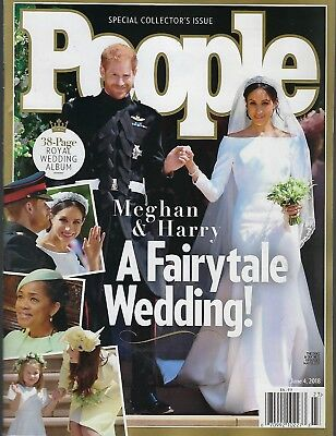 People Magazine June 4 2018 Royal Wedding  Meghan - Harry