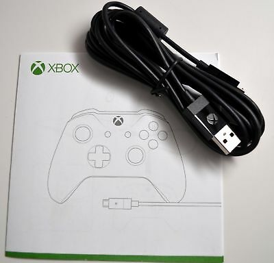 Genuine Microsoft Xbox One Official Micro USB Play - Charge Cable for Controller