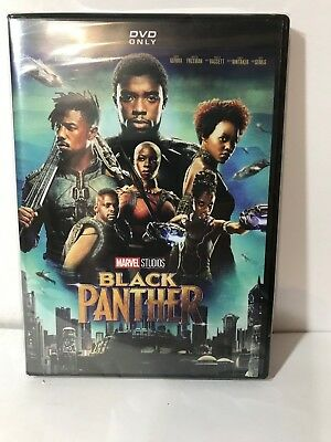 Black Panther DVD2018 Brand NEW Action Marvel FREE SHIPPING in USA