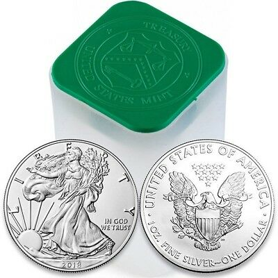 2018 1 OUNCE AMERICAN SILVER EAGLE GEM BU 1 SILVER DOLLARINVEST TODAY-999
