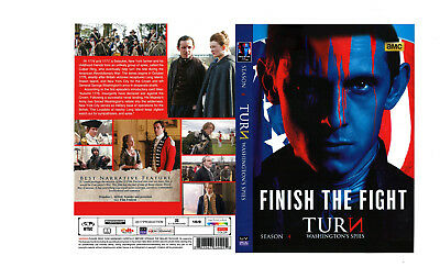 TURN Washington Spies Season Four Final 4 DVD set R1